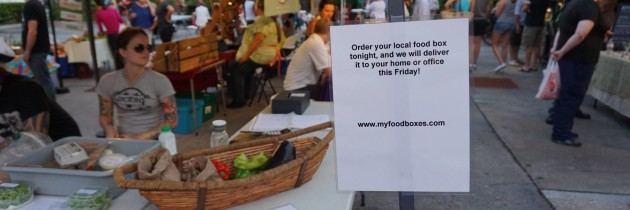 Local Food Boxes Delivered to Your Door