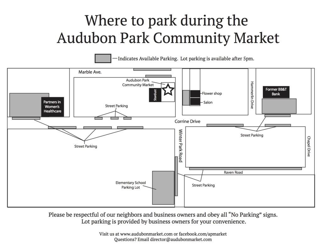 APCM Parking Map